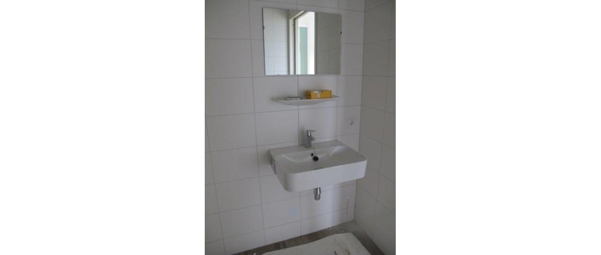 Oktober 2020 - Wastafel in de badkamer van de gastenkamer